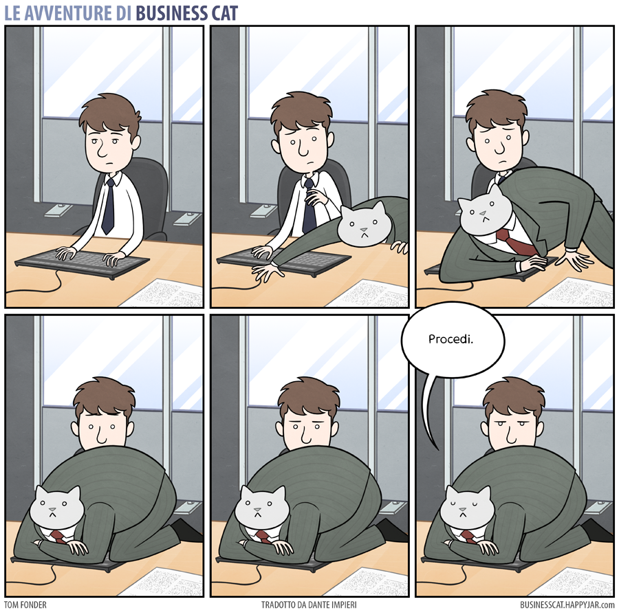 Business Cat Keyboard