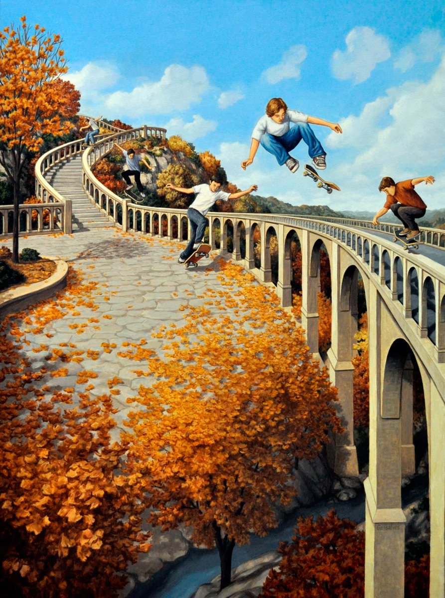 Big Air di Robert Gonsalves