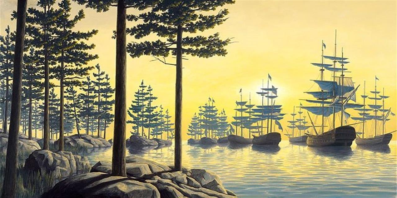 Sailing Islands di Robert Gonsalves